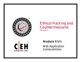 cehv6 module 17 web application vulnerabilities.pdf