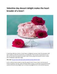 Order Valentine day online cake delivery in Chandigarh.pdf