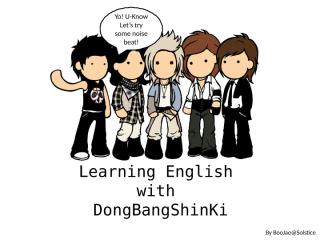 Learning English with DBSK - lesson three2.ppt