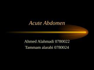 Acute Abdomen2.ppt
