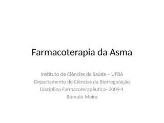 Farmacoterapia da Asma.pptx